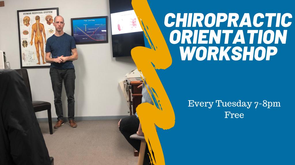 Chiropractic Orientation Workshop. 1